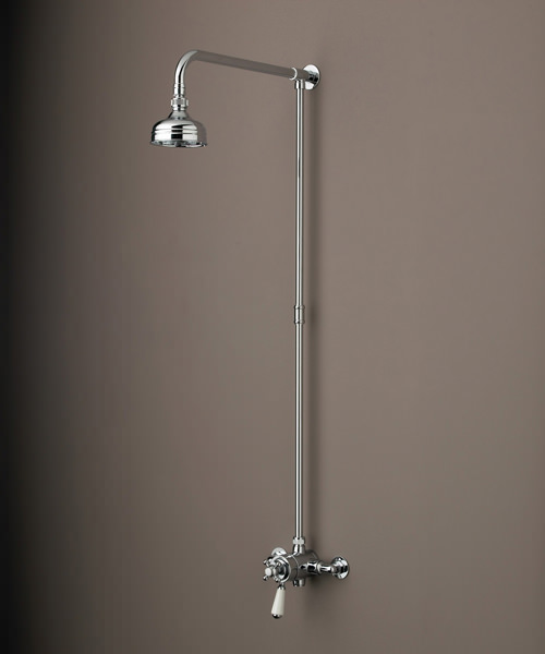 Bristan Regency Thermostatic Dual Control Shower Valve With Rigid Riser