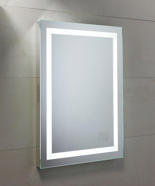Roper Rhodes Encore 500mm Illuminated Bluetooth Mirror Portrait
