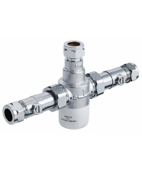 Bristan Gummers 15mm Thermostatic Mixing Valve With Isolation