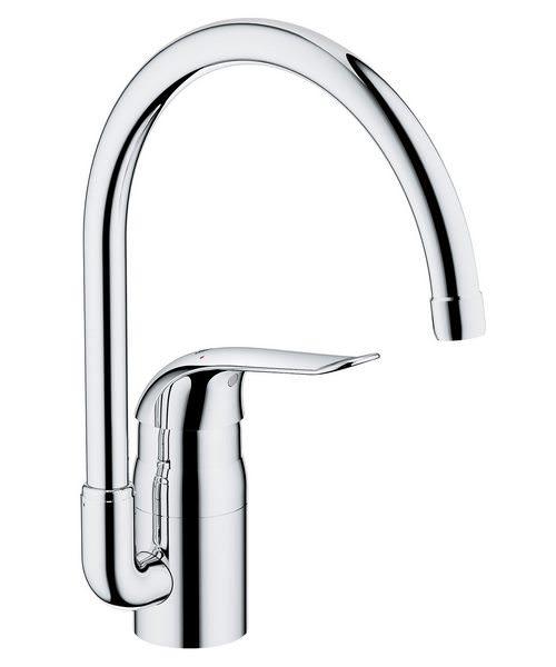Grohe Euroeco Special Chrome Monobloc Sink Mixer Tap