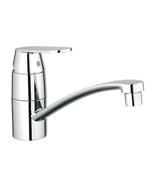 Grohe Eurosmart Cosmopolitan Low Spout Monobloc Sink Mixer Tap