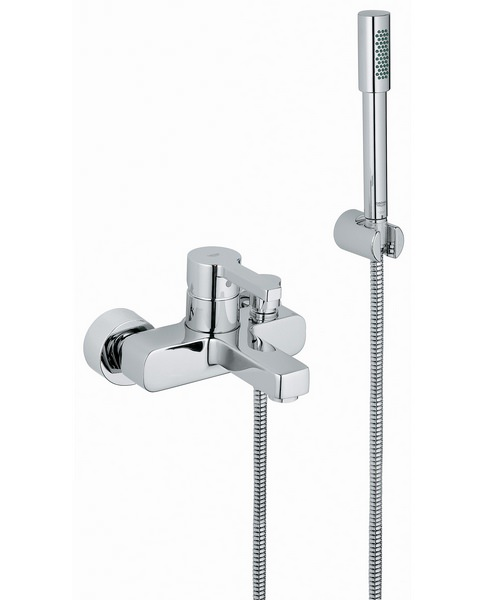 Grohe Lineare Single Lever Bath Shower Mixer Tap With Shower Kit
