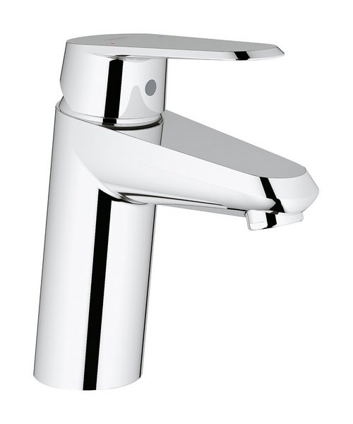 Grohe Eurodisc Cosmopolitan Chrome Basin Mixer Tap With Metal Lever Handle