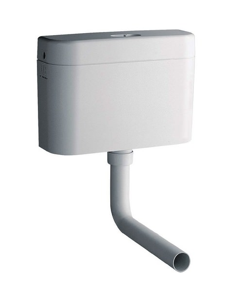 Grohe Adagio White Alpine Concealed Cistern