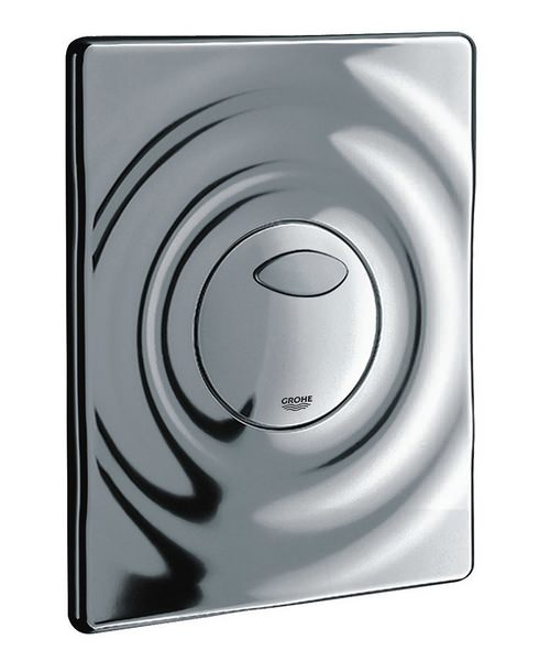 Grohe Surf Chrome Wall Mounted Flush Plate