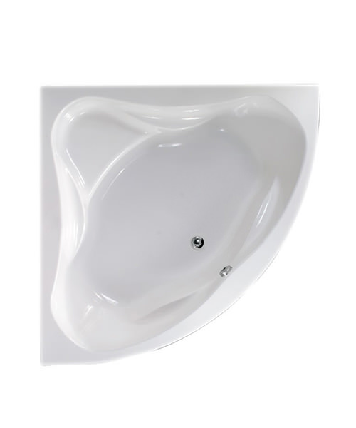 Aquaestil Ambassador White 1400 x 1400mm Corner Bath