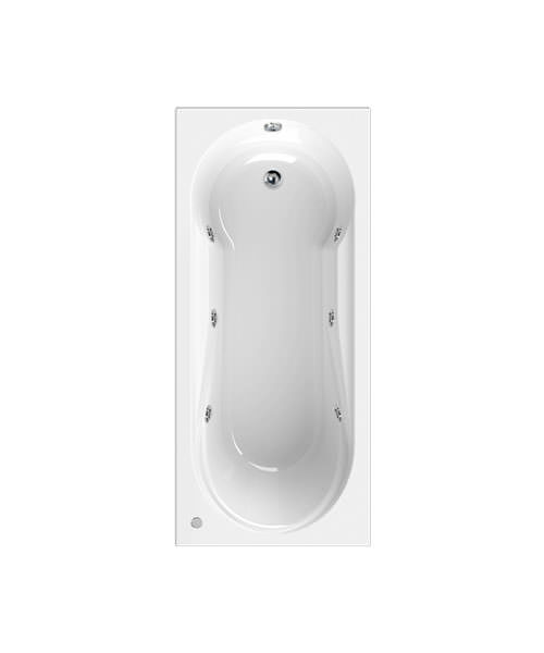 Aquaestil Modena 1800 x 800mm Whirlpool Bath