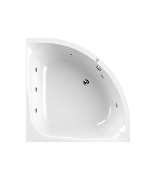 Aquaestil Satellite Corner Whirlpool Bath 1200 x 1200mm