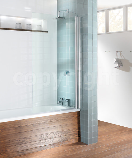 Simpsons Kitchen Remodel: Simpsons Design 850 X 1500mm Semi Frameless Single Bath Screen