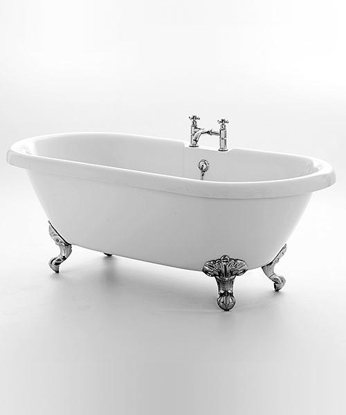 Royce Morgan Kensington 1495 x 785mm Traditional Freestanding Bath