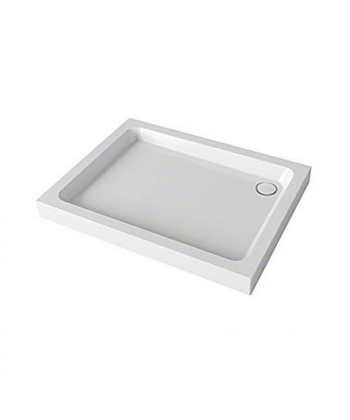 Mira Flight Square Shower Tray With Waste