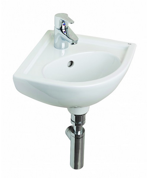 Essential Lily Raised Height Corner Basin