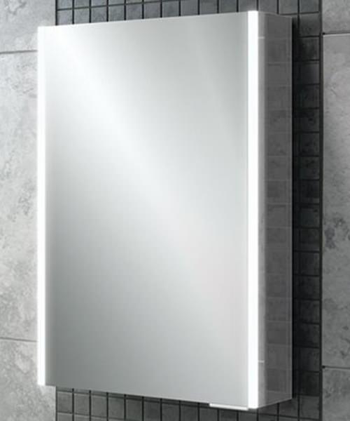 HiB Xenon 50 Single Door LED Bathroom Cabinet 505 x 700 x 130mm