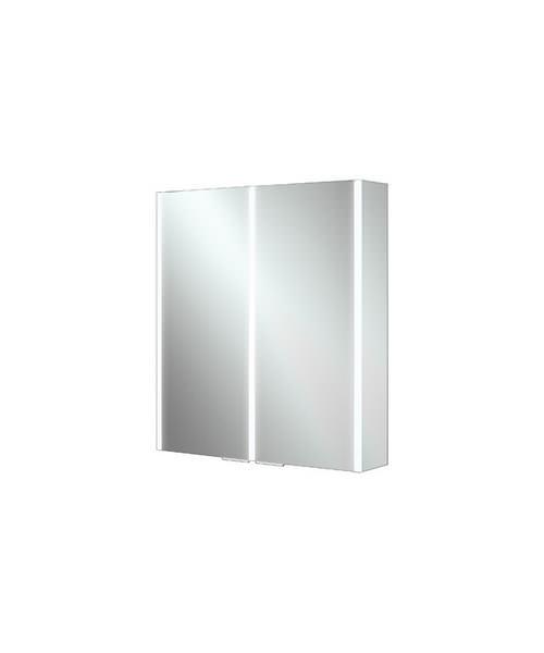 Additional image of HiB Xenon 50 Single Door LED Bathroom Cabinet 505 x 700 x 130mm