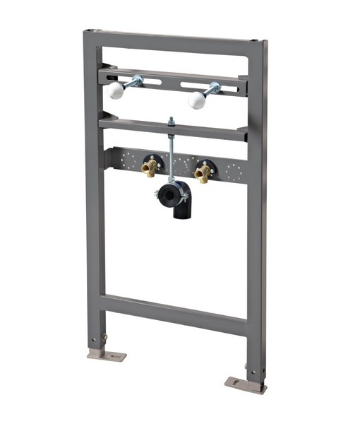 Phoenix 820mm Wall Hung Basin Fixing Frame With Built In Pipe Inlets