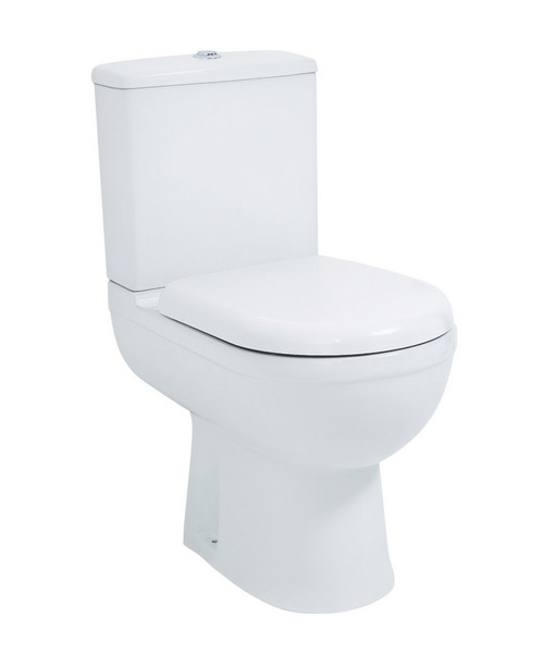 Phoenix Emma Comfort Height WC Pan With Cistern And Seat