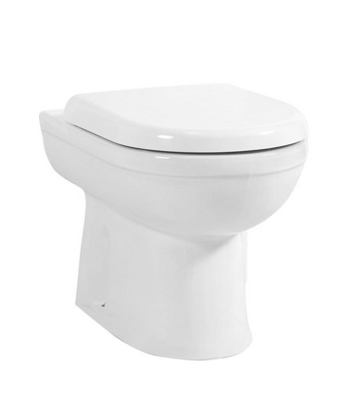 Phoenix Emma 360mm Back To Wall WC With Soft Close Seat And Cover