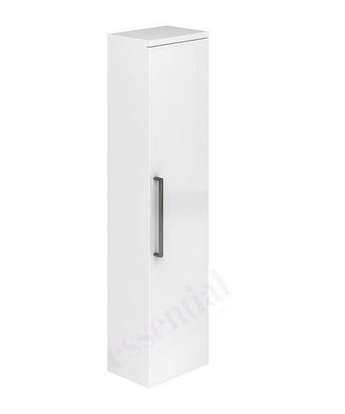 Essential Nevada 350mm Single Door Tall Column Unit White