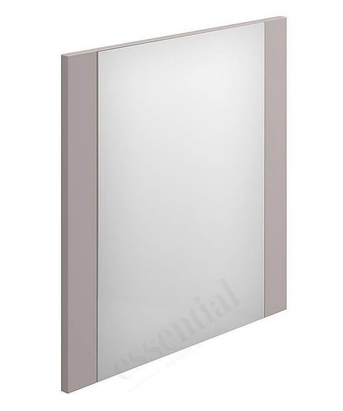 Essential Nevada 550 x 600mm Rectangular Mirror Cashmere
