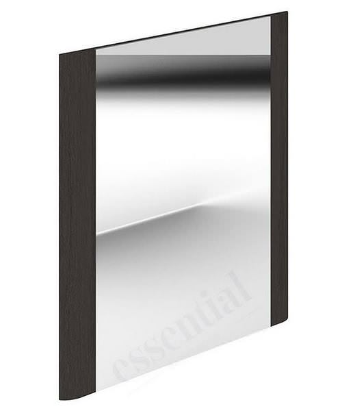 Essential Vermont 600 x 600mm Dark Grey Square Mirror