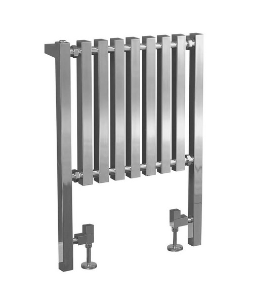 Phoenix Ava Designer Radiator 600 x 800mm Chrome