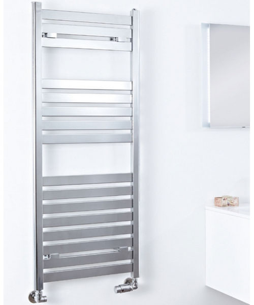 Phoenix Ascot Chrome 500 x 1200mm Designer Radiator