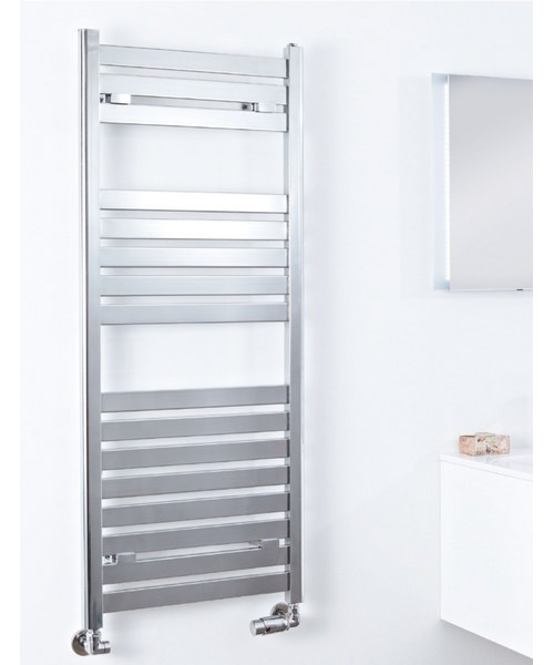 Phoenix Ascot Chrome 500 x 1600mm Designer Radiator