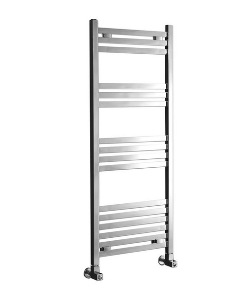 Phoenix Davina Chrome 500 x 1200mm Designer Towel Rail