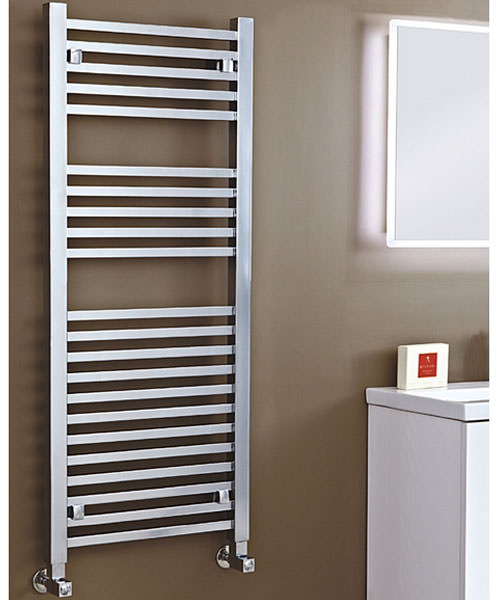 Phoenix Sophia Chrome 500 x 800mm Designer Radiator