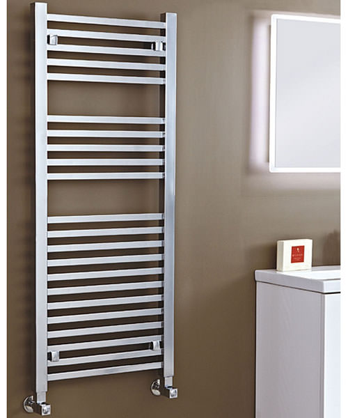 Phoenix Sophia Chrome 500 x 1200mm Designer Radiator