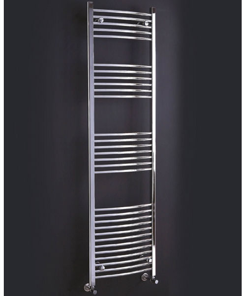 Phoenix Gina Curved Designer Towel Rail 500mm x 800mm