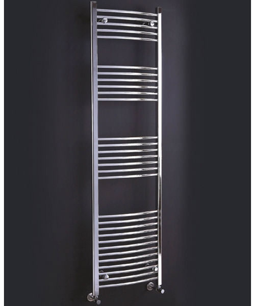 Phoenix Gina Curved Designer Towel Rail 500mm x 1200mm
