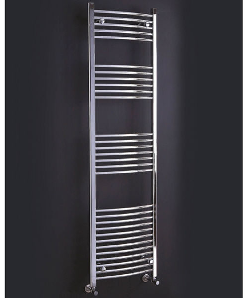 Phoenix Gina Curved Designer Towel Rail 600mm x 1200mm
