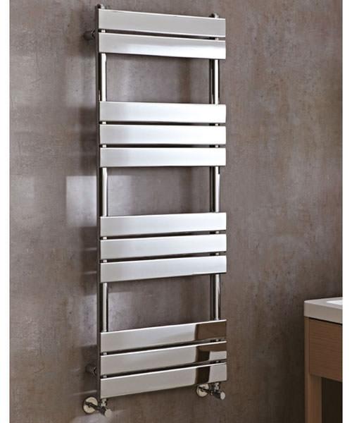 Phoenix Sorento Designer Flat Panel Towel Rail 500mm x 1300mm