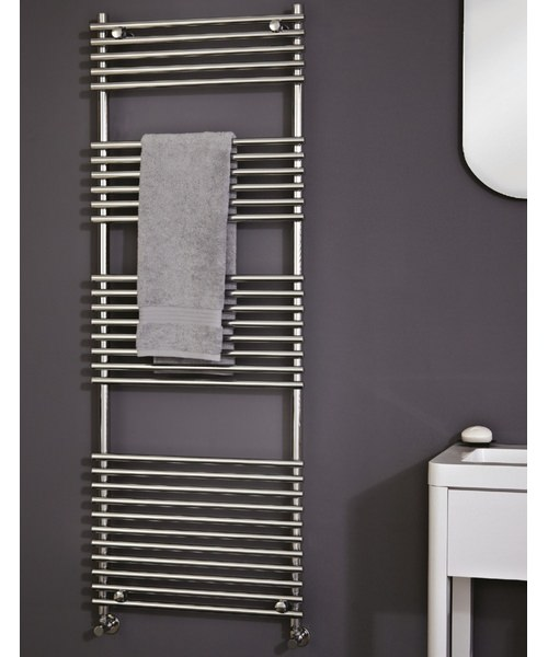 Phoenix Demi Designer Towel Rail 600mm x 1650mm