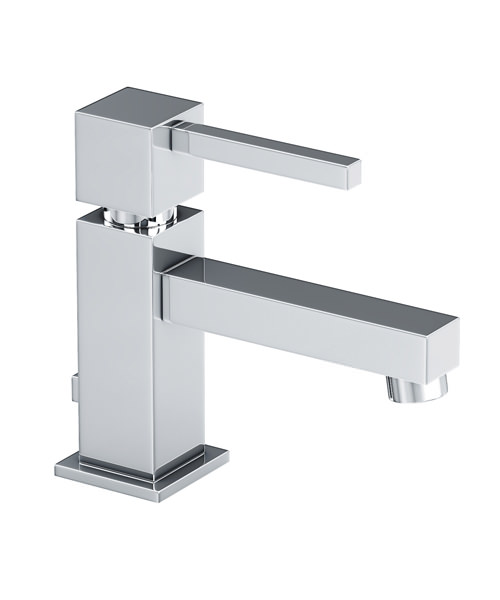 Abode Zeal Monobloc Basin Mixer Tap With Pop Up Waste Chrome