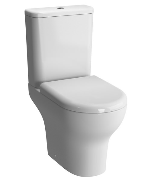 Vitra Zentrum Close Coupled Wc Pan With Cistern Closed Back