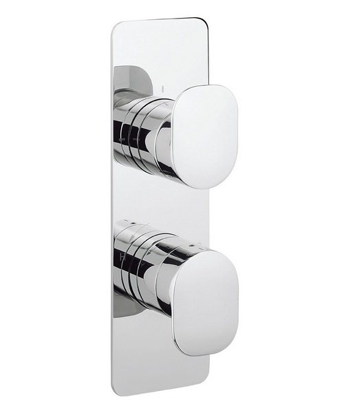 Crosswater Kelly Hoppen Zero 2 Thermostatic Shower Valve With 3 Way Diverter