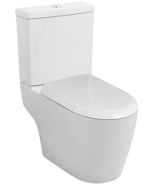 Nuie Premier Provost Close Coupled WC With Cistern And Soft Close Seat