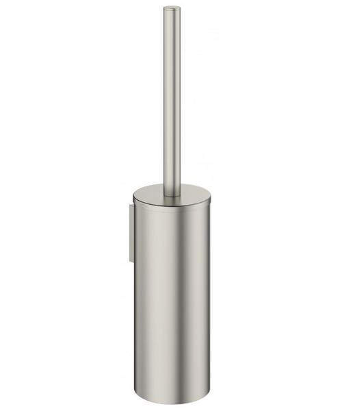 Crosswater Mike Pro Brushed Stainless Steel Toilet Brush And Holder