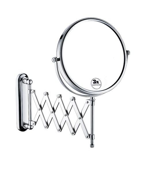 Bristan Extending Shaving Mirror Round