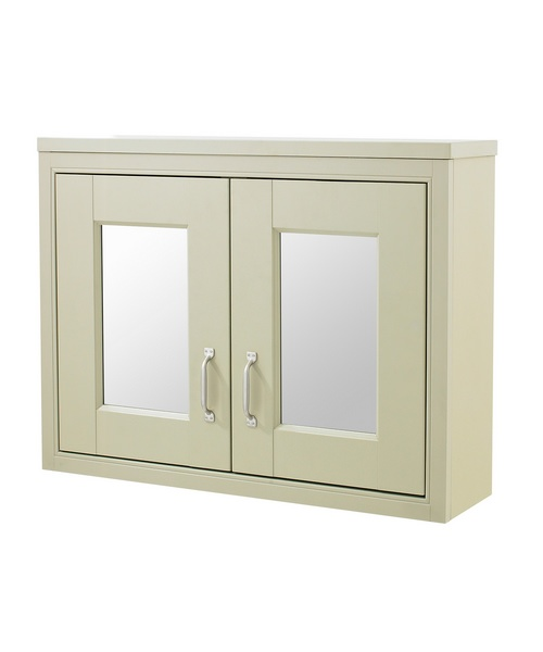 Old london pistachio 800 x 600mm mirror cabinet for Mirror 800 x 600