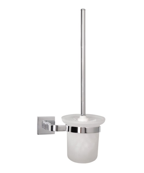 Mayfair Ice Brush Holder WC Chrome