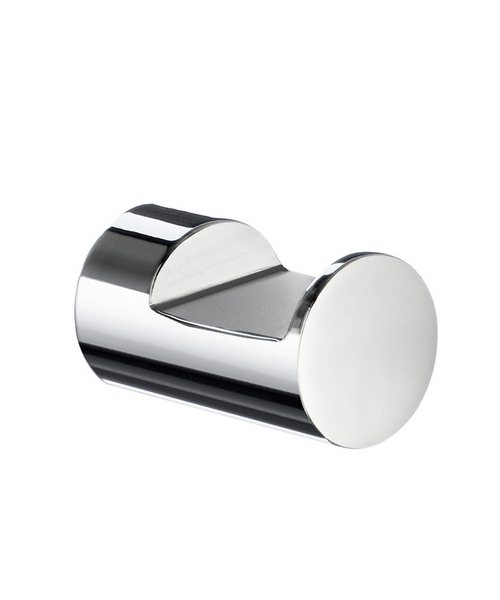 Smedbo Life Pair Of Chrome 25mm Small Single Towel Hook