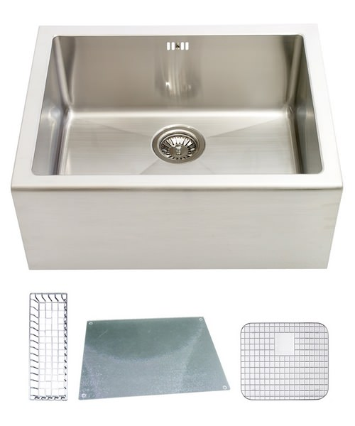 Astracast Belfast Stainless Steel Sit-In Sink And Accessories - 1.0 Bowl