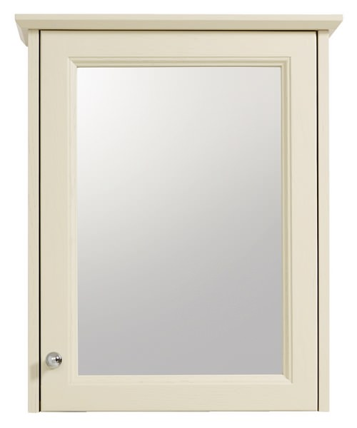 Heritage Caversham Traditional Single Door Mirrored Wall Cabinet