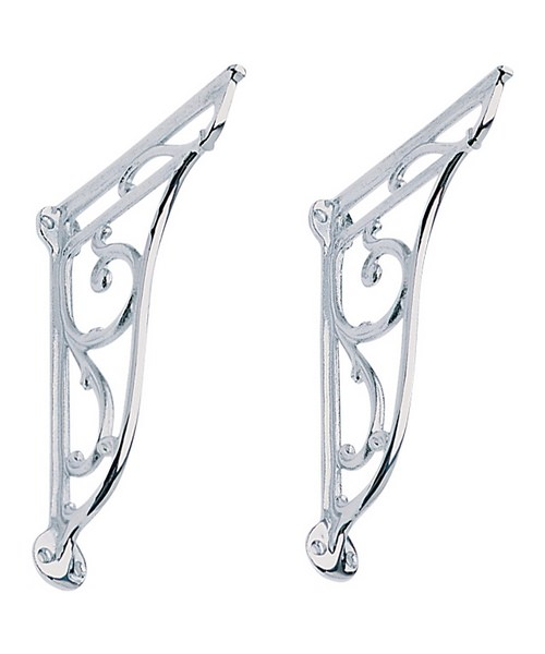Heritage Ornate Brackets For Basin Chrome