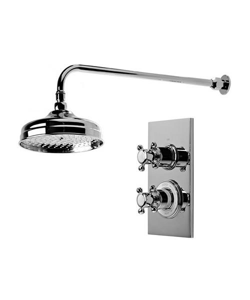 Roper Rhodes Henley Single Function Concealed Shower System