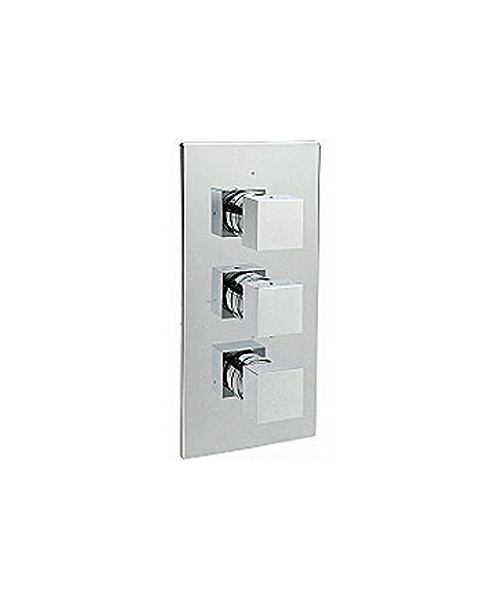 Vespa Concealed Thermostatic Shower Valve With 3 Way Diverter