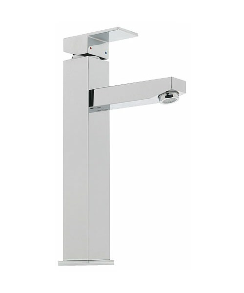 Tre Mercati Edge Extended Mono Basin Mixer Tap Chrome
